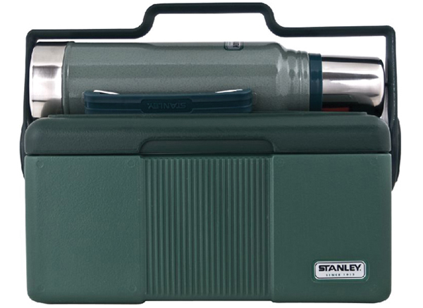 Stanley Classic Lunch Box and Flask Combo for Dad's who take lunch seriously!