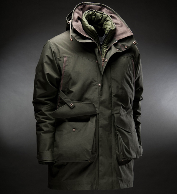 The Musto Storm Jacket - Part of the three layer system available at Philip Morris and Son