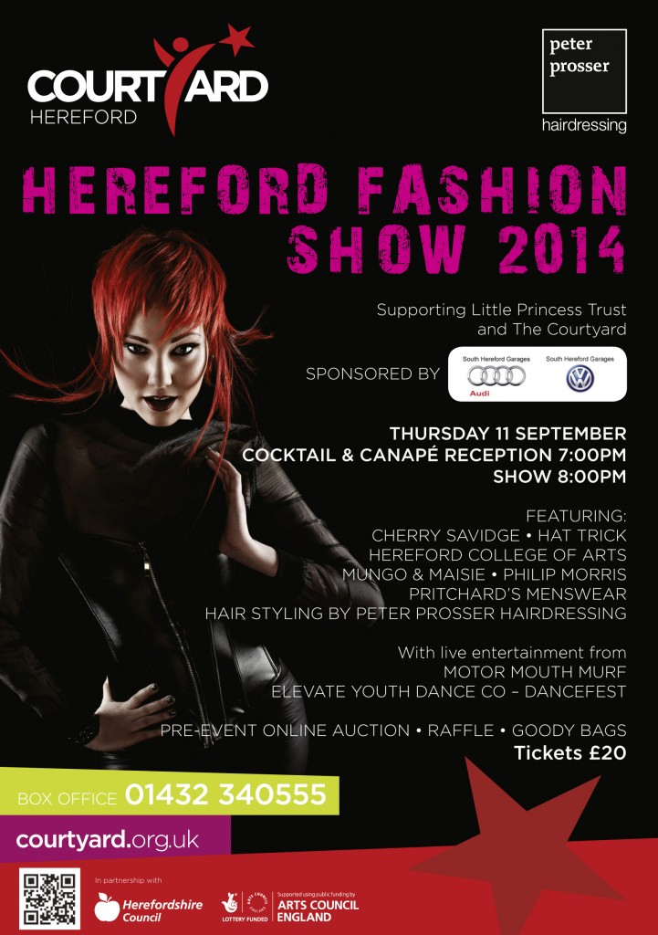 Buy tickets for the Hereford Charity Fashion Show 2014