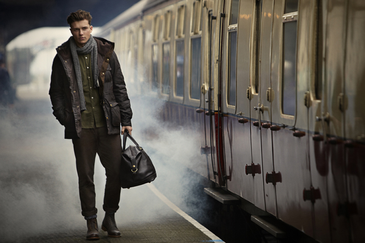 Discover the New Barbour Mens Great Coat Collection for Autumn Winter 2014 at Philip Morris and Son
