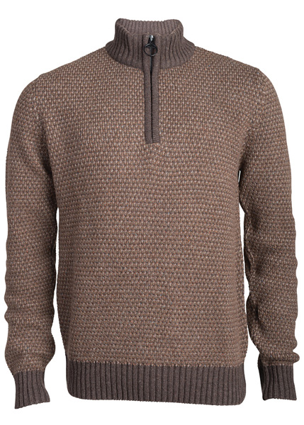 The Men's Barbour Hines Half Zip Jumper - New for Autumn Winter 2014 at Philip Morris and Son