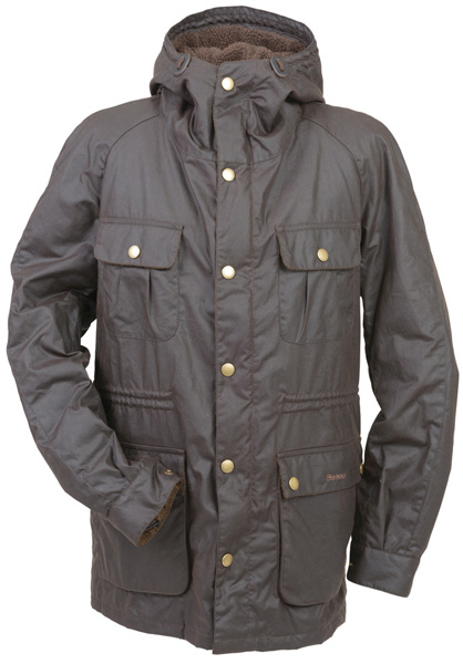 The Men's Barbour Northolt Wax Jacket - New for Autumn Winter 2014 at Philip Morris and Son