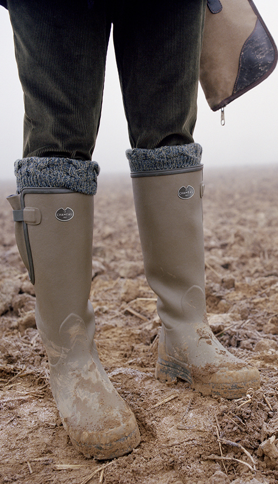 Le Chameau Vierzonord Wellington Boots as a great Christmas gift for him from Philip Morris and Son