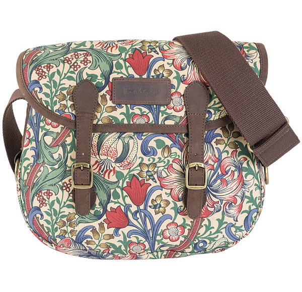 Barbour Morris Print Reiver Bag as a gift for her this Chirstmas - £129