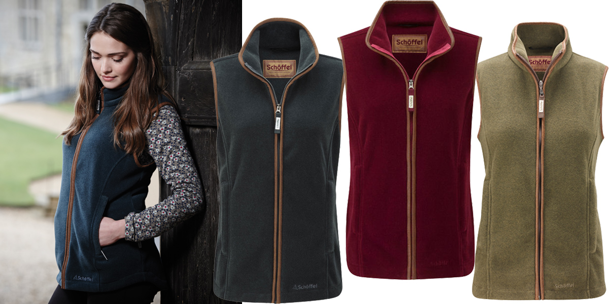 Schoffel Lyndon Fleece Gilet as a gift for her this Christmas - £124.95