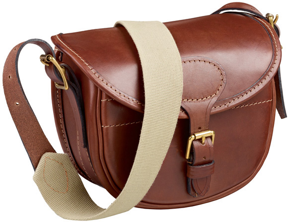 Musto Leather Cartridge Bag as a great Christmas gift for him from Philip Morris and Son