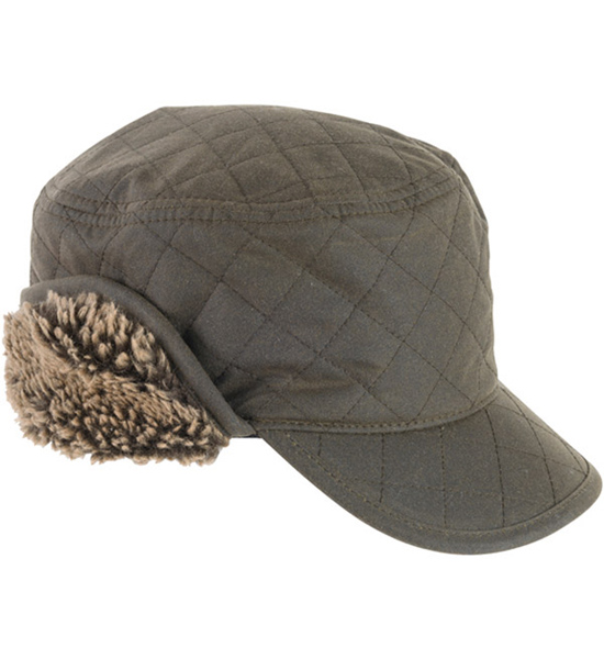 Barbour Stanhope Wax Trapper Hat as a great Christmas gift for him from Philip Morris and Son