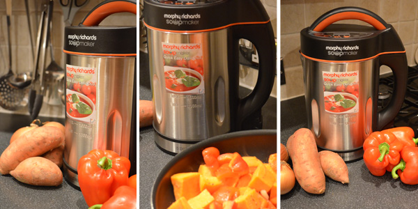 Morphy Richards Soup Maker in Action