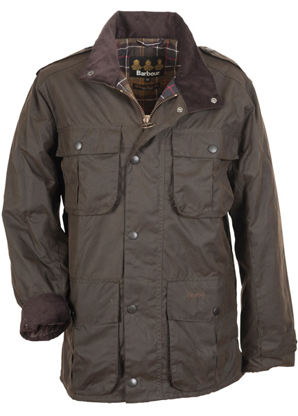 Barbour Mens Trooper Jacket at Philip Morris and Son