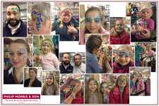 Face Painting for Comic Relief at Philip Morris & Son