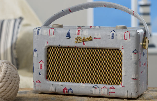 Roberts Radio - Beach Huts Revival range at Philip Morris and Son