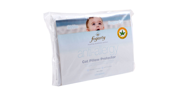Fogarty Ultracare Anti Allergy Cot Pillow Protector at Philip Morris and Son