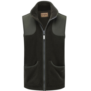Mens Schoffel Gunthorpe fleece gilet available at Philip Morris and Son