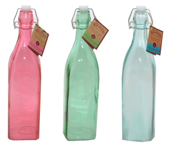 Preserve all homemade cordials in Kilner Clip Top Bottles available at Philip Morris and Son