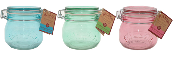 Keep your chutneys fresh with Kilner Clip Top Jars from Philip Morris and Son
