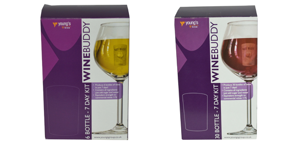 Young's Winebuddy Kit available at Philip Morris and Son
