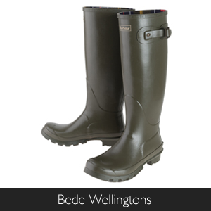 Barbour Bede Wellington Boots available at Philip Morris and Son
