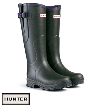 Hunter Ladies Balmoral Neoprene Wellingtons available at Philip Morris and Son