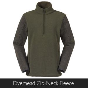 Men's Musto Dyemead Zip-Neck Fleece at Philip Morris and Son