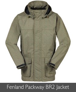 Musto Mens Fenland Printed Packaway BR2 Jacket available at Philip Morris and Son