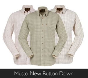 Musto New Button Down Shirt at Philip Morris and Son