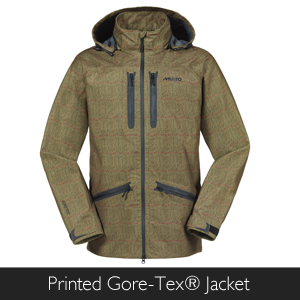 Musto Printed Gore-Tex Jacket at Philip Morris and Son