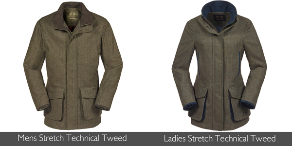 Musto Stretch Technical Tweed available at Philip Morris and Son