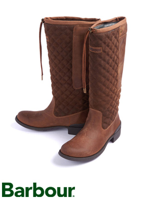 Ladies Barbour Hedgehope High Boot at Philip Morris and Son