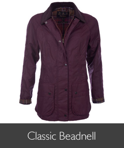 Barbour Classic Bordeaux Beadnell available at Philip Morris and Son