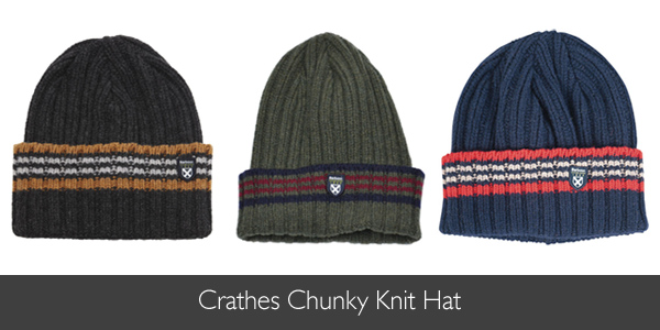 Barbour Crathes Chunky Knit Hat for AW15