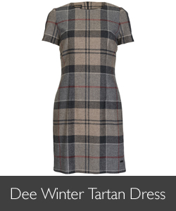 Ladies Barbour Dee Winter Tartan Dress for AW15
