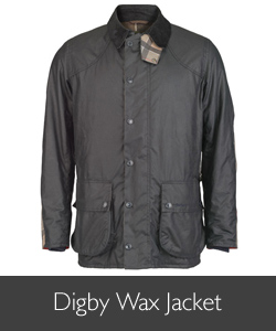 Barbour Digby Wax Jacket for AW15