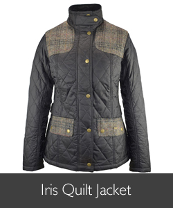 Ladies Barbour Iris Quilt for AW15