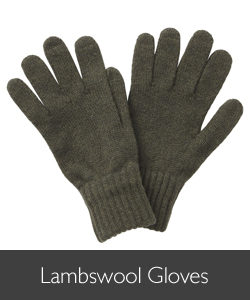 Barbour Knitted Lambswool Gloves available at Philip Morris and Son