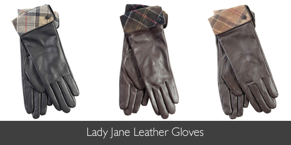 Barbour Lady Jane Leather Gloves available at Philip Morris and Son