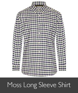 Barbour Men's Moss Long Sleeve Shirt available at Philip Morris and Son
