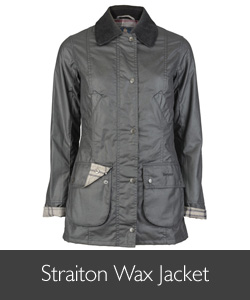 Barbour Straiton Wax Jacket available at Philip Morris and Son