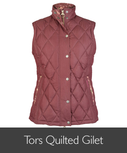 Barbour Tors Quilted Gilet available at Philip Morris and Son