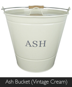 Manor Ash Bucket in Vintage Cream available from Philip Morris and Son