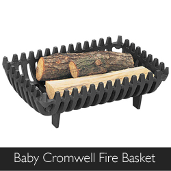Manor Baby Cromwell Fire Basket, available at Philip Morris and Son