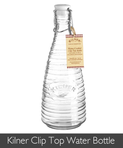 Keep your gin in a Kilner Clip Top Water Bottle