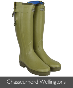 Le Chameau Neoprene Lined Chasseurnord Wellingtons