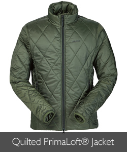 Musto Quilted PrimaLoft® Jacket available at Philip Morris and Son