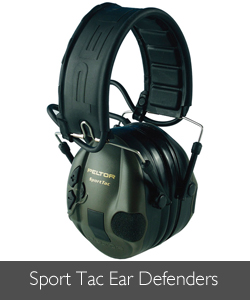 Sport Tac Ear Defenders available at Philip Morris and Son