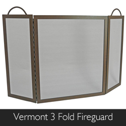 Manoe Vermont 3 Fold Fireguard from Philip Morris and Son