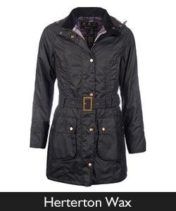 Barbour Herterton Waxed Jacket