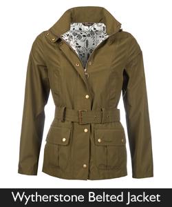 Barbour Wytherstone Belted Jacket