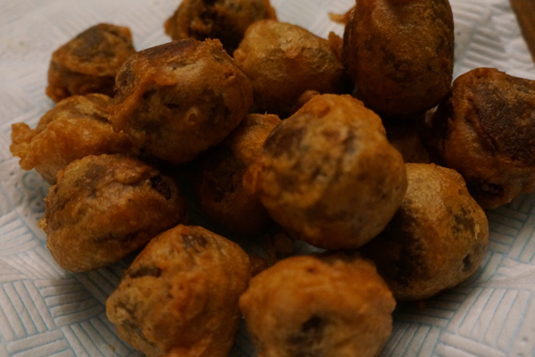 Fried Haggis In A Chinese Beer Batter