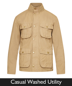 Barbour Casual Washed Utility for SS16