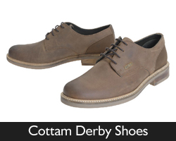 Barbour Cottam Derby Shoes for SS16